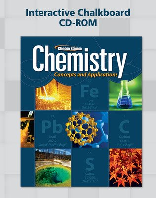 Chemistry: Concepts & Applications, Interactive Chalkboard CD-ROM
