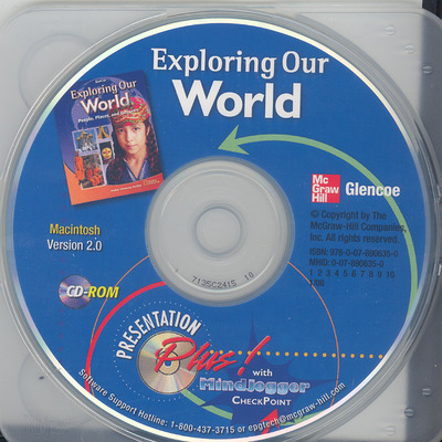 Exploring Our World, Presentation Plus! with MindJogger Checkpoint CD-ROM (Mac)