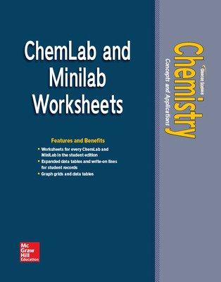 Chemistry: Concepts & Applications, ChemLabs & MiniLabs Worksheets