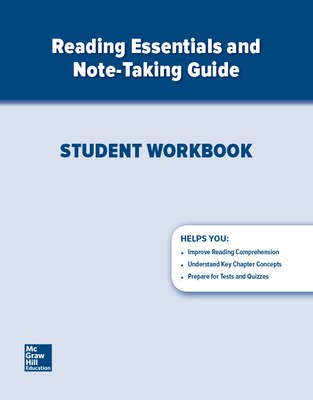 Glencoe World History: Modern Times, Reading Essentials and Note-Taking Guide Workbook