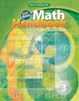 Quick Review Math Handbook, Book 3, Teacher Guide