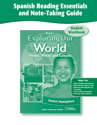 Exploring Our World: Eastern Hemisphere, Spanish Reading Essentials and Note-Taking Guide Workbook