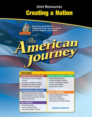 The American Journey, Creating a Nation Resource Book