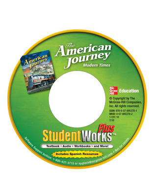 The American Journey: Modern Times, StudentWorks Plus CD-ROM