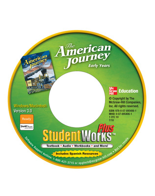 The American Journey: Early Years, StudentWorks Plus Online, 6-year subscription