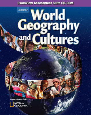World Geography and Cultures, ExamView Assessment Suite CD-ROM