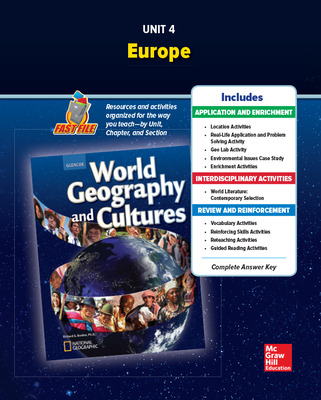 World Geography and Cultures, Unit 4 Resources Book