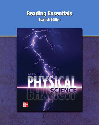 Physical Science, Spanish Reading Essentials Student Workbook