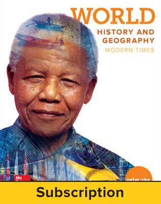 World History and Geography: Modern Times, Student Learning Center, 7-year subscription