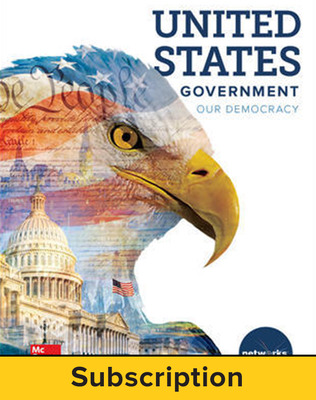 United States Government: Our Democracy, Student Learning Center, 7-year subscription