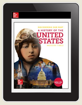 Discovering Our Past: A History of the United States, Modern Times, Student Learning Center, 6-year subscription