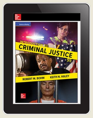 Bohm, Introduction to Criminal Justice, 2018, 9e, ConnectED eBook 6-year subscription