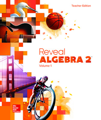 Reveal Algebra 2, Teacher Edition, Volume 1