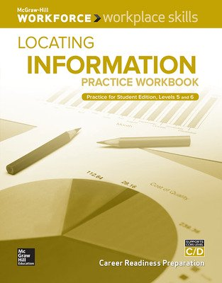 Workplace Skills Practice Workbook, Levels C/D, Locating Information, 10-pack