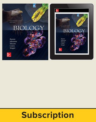 Raven, Biology, 2017, 11e (AP Edition) Print and Digital bundle, 1-year subscription