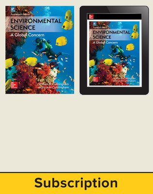 Cunningham, Environmental Science, 2018, 14e (AP Edition) AP Advantage Print and Digital bundle, 1-year subscription