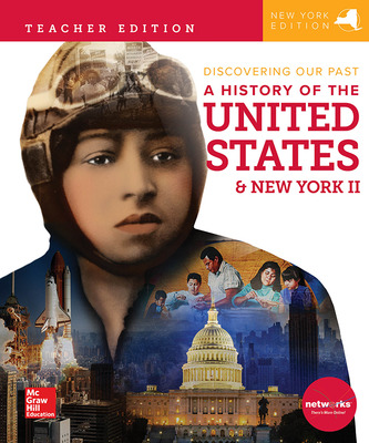 CUS New York Discovering Our Past: History of the United States and New York II Grade 8, Teacher Edition, C2TEH