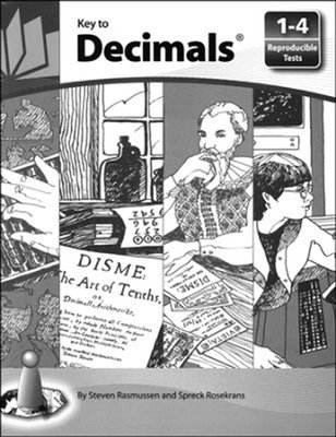 Key to Decimals, Books 1-4, Reproducible Tests