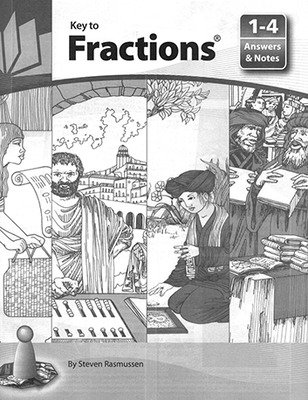 Key to Fractions, Books 1-4, Answers and Notes