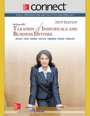 Connect Online Access for McGraw-Hill's Taxation of Individuals and Business Entities 2019 Edition