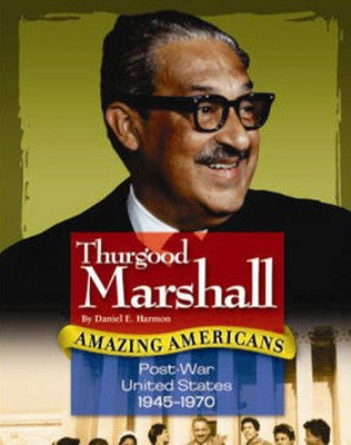 Amazing Americans, Post-War United States: Thurgood Marshall (Level T), 6-pack