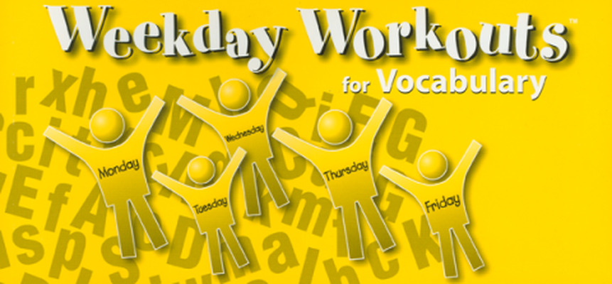 Weekday Workouts for Vocabulary - Student Booklet Grade 5