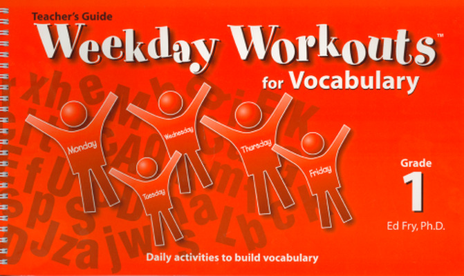 Weekday Workouts for Vocabulary - Teacher Guide Grade 1