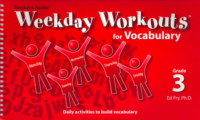Weekday Workouts for Vocabulary - Teacher Guide Grade 3