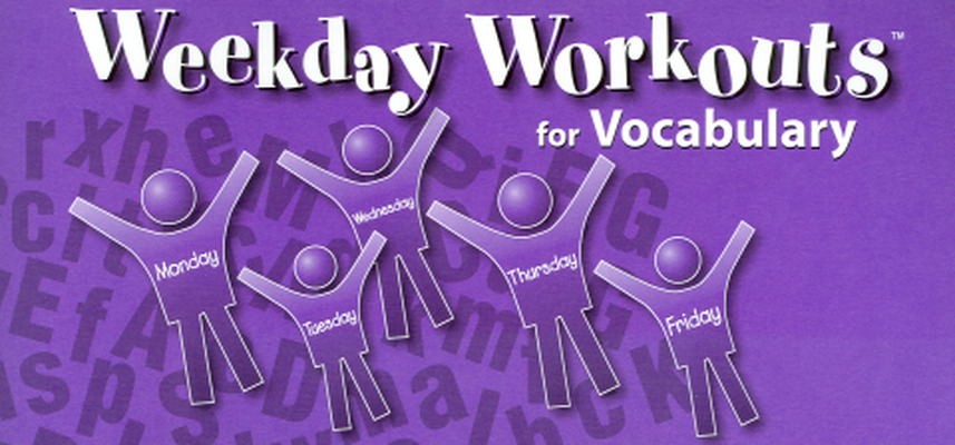 Weekday Workouts for Vocabulary - Student Booklet 10-Pack Grade 6