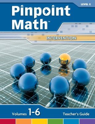 Pinpoint Math Grade 5/Level E, Teacher's Guide'