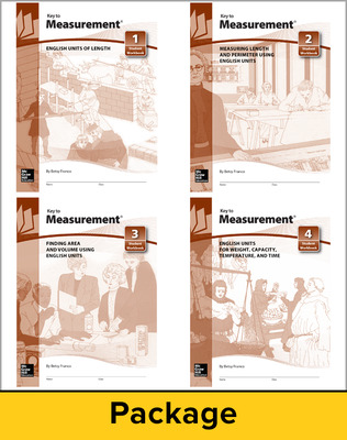 Key to Measurement, Books 1-4 Set