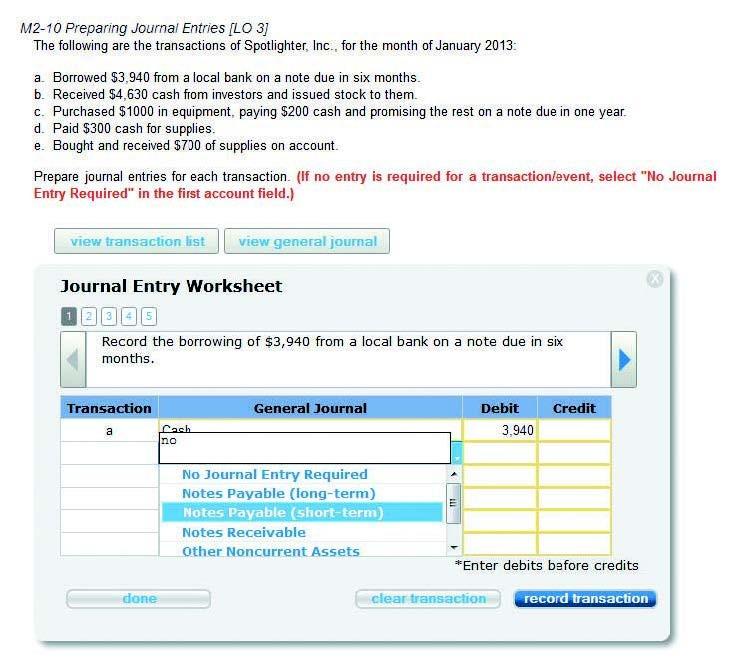 Connect Online Assignments Screenshot