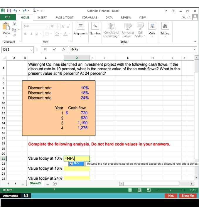 Finance mcgraw hill higher education excel simulation problems fandeluxe Gallery