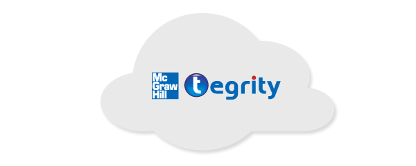 Tegrity logo in cloud
