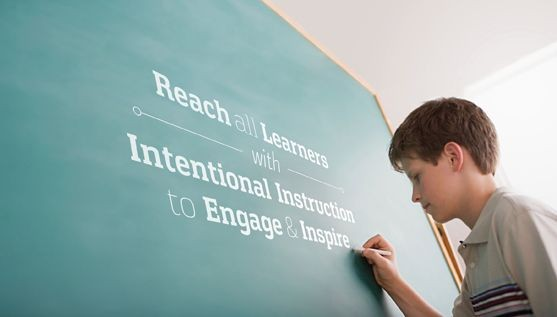 Reach all learners with intentional instruction to engage and inspire
