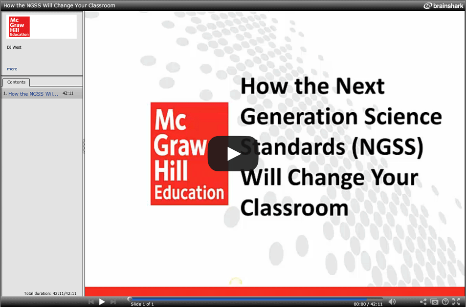 Integrating the NGSS Science and Engineering Principles into the Classroom
