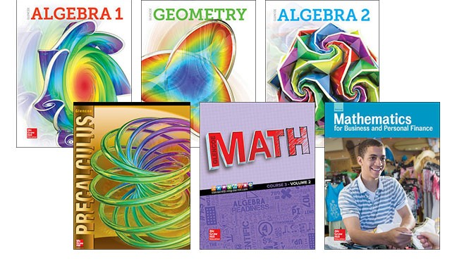 6-12 Math covers