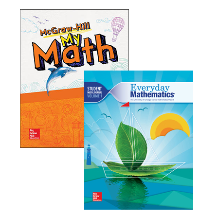 McGraw-Hill My Math and Everyday Mathematics 4 covers