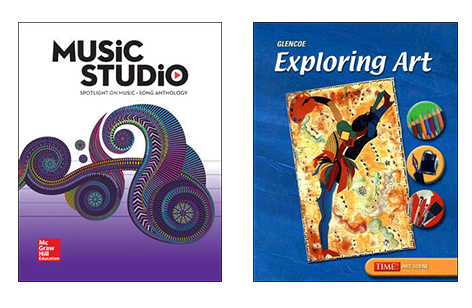 Spotlight on Music and Exploring Art covers