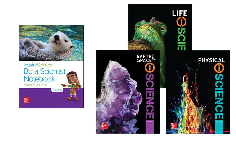 Inspire Science & iScience covers