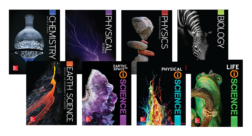 6-12 Science covers