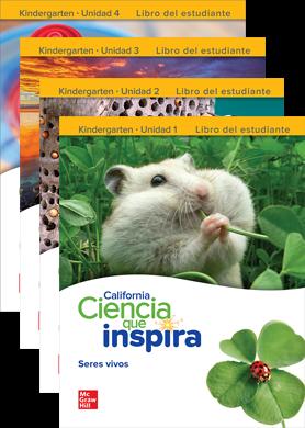 Inspire Science Spanish Grade K