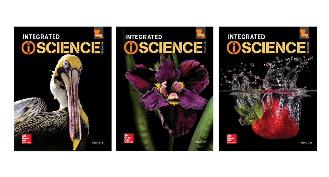 Louisiana iScience covers