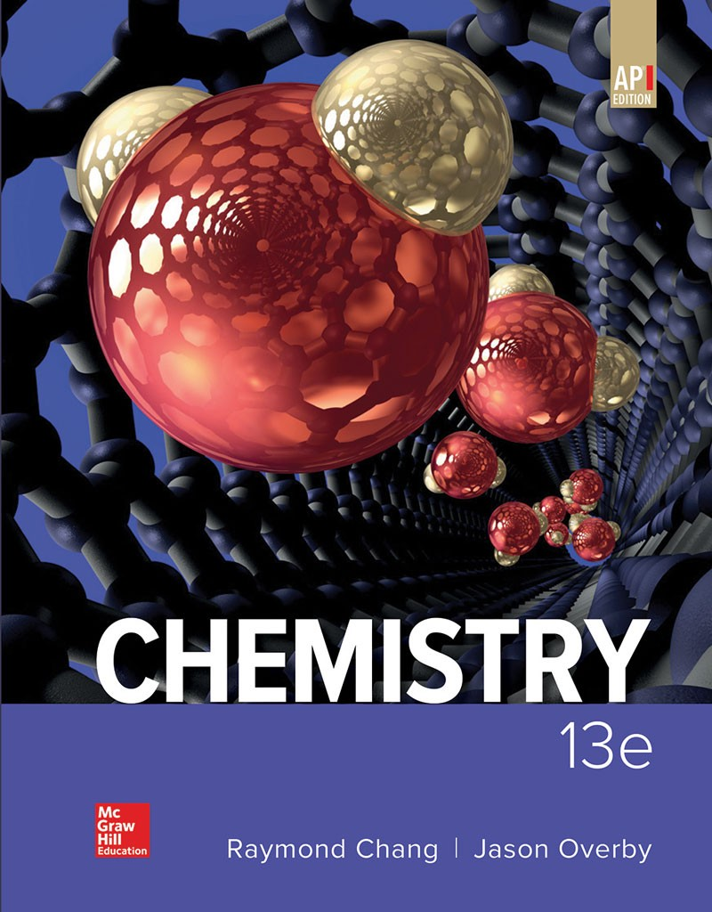 Chang, Chemistry 13e cover
