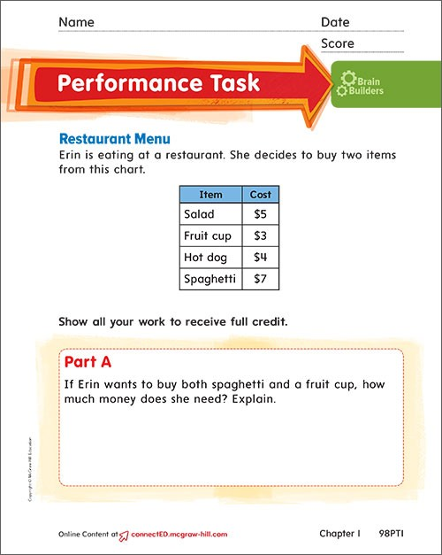 Performance Task Grade 2